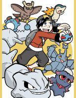 Pokemon Trainers - Gold by Toug-2000