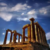 Cape Sounion by VaggelisFragiadakis
