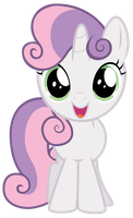 Excited Sweetie Belle by thatguy1945