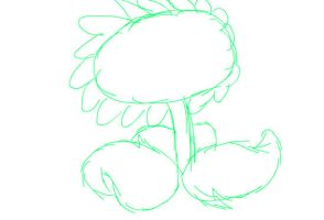 IdleSunflower rough animation by ITS-ALL-NTG