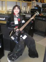 Bass guitar madness by AmyWeaving