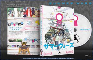 DVD Cover: Summer Wars by N1z1ra