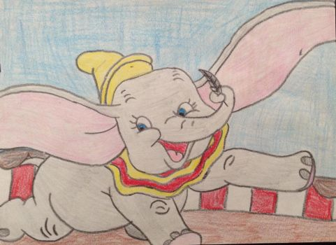 Dumbo by WinterWolfDragon