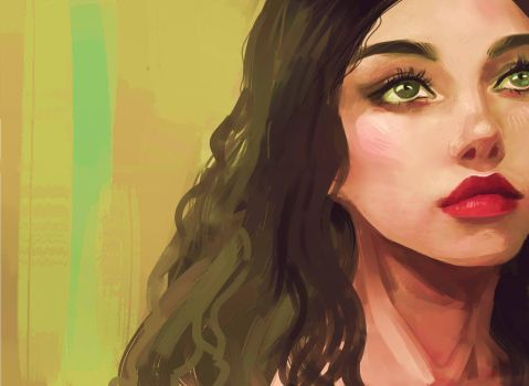 more painting practice by DomesticCyborg