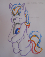 Care Bears - Hot Wave Horse by MortenEng21