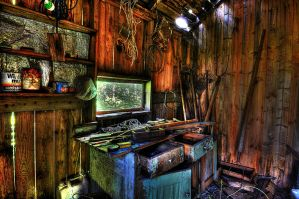 The Shed HDR by daelly