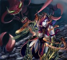 Dynasty Shyvana by Christian-Angel