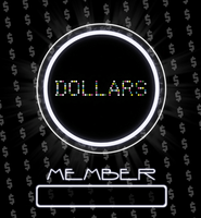 Dollars member card. by lavistrikesback
