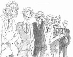 Hetalia - Time to Work by HolderofTruth