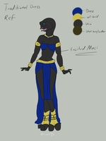 Maci's Traditional Dress Ref by EroomAlly