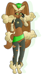 Mega Lopunny Likia by Shadow-Pikachu6