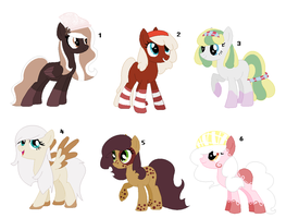 ~ Cake Themed Pony Adopts ~ CLOSED by IIbukiMioda