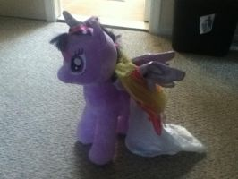 Twilight Sparkle (Build a bear workshop) by AgentLaffey119