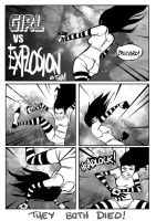 Girl vs Explosion by Sam-M