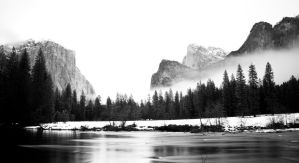 Yosemite Winter by gursesl