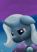 -speepaint- Trixie by DarkHestur