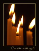 Candles in the night by PhilipCapet