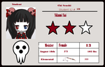 Chi Senshi's Student ID by Invader-Lix