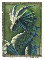 Green Dragon by hibbary