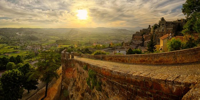 Orvieto Sunset by scwl