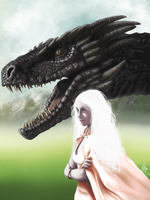 Fire and Blood by hannie001