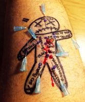 Play piercing (My Voodoo doll) by TheChristOff
