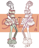 Fashion SALE Adoptable - Antoinette [CLOSED] by BenyiHS
