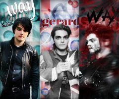 pack1. Gerard Way by nikachehova