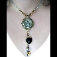 Steampunk Assemblage Necklace by asunder
