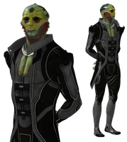 ME3 Thane Krios ME2 Loyal Texture for XPS by Just-Jasper