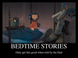 Coraline: Bedtime Stories by Graystripe64