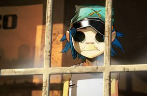 Gorillaz - 2D Plastic Beach by pipsinpaddle