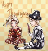 APH: Happy Thanksgiving by niirasri