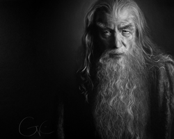 Gandalf by GenevieveViel