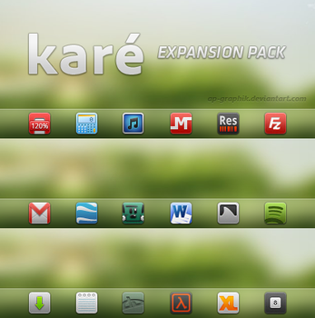 kare expansion pack by ap-graphik