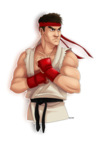 SF - Ryu by SuperKusoKao