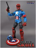 The Victorious Red Skull Prtrt by Lokoboys