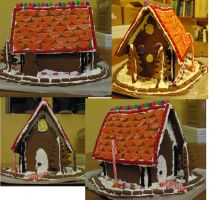 Gingerbread house by FrockTarts