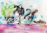 Collab:Together again by lale-chan