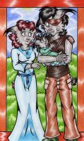 The Roarke Family by BlushBunnyC3