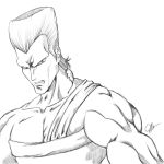 Jean Polnareff Sketch by joeybowsergraphics