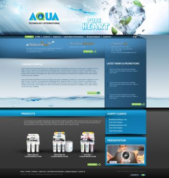 Aqua water system by atcreation