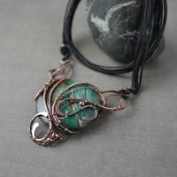 Copper necklace by WhiteSquaw