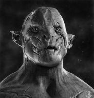 Azog the Defiler by McMiller94