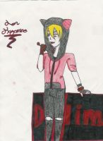 Art Trade: Len with cat hoodie by Dalim-chan1234