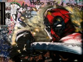 Deadpool 'o graff by ksrp2v