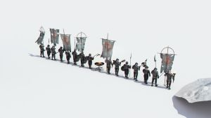 soldiers for Minas Tirith by 3DEllesar
