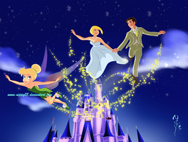 You can fly with Tinkerbell!! by Nippy13