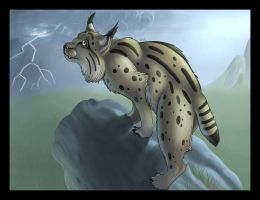 Commission: Sniffing the storm by AltairSky