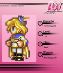 Taira the Bard  (16-bit hero) - HSV RPG by darthmadigan
